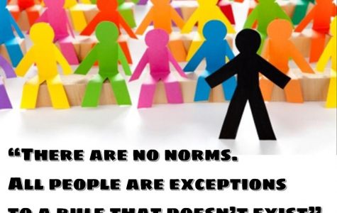 "Society's opinions on ""normality"" affect student personality and behavior"
