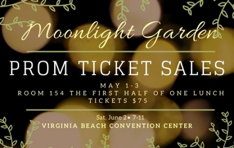 Prom ticket sales totaled over $20,000 in just one week