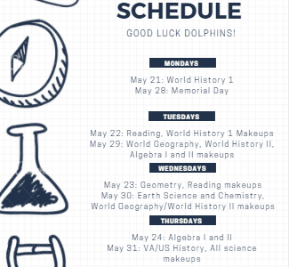 Ocean Lakes High School S.O.L testing schedule