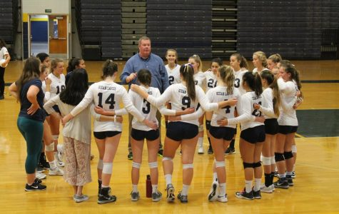 Girls volleyball celebrates another win
