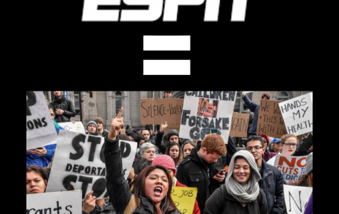 ESPN preaches the views of the most politically correct group in the country: social justice warriors. Photo from the Foundation of Individual Rights in Education.
