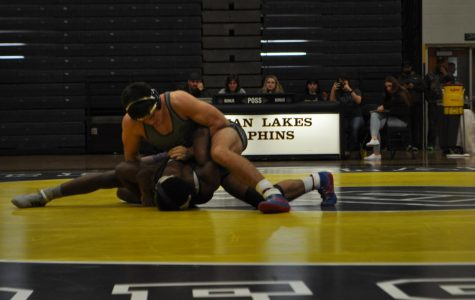 Wrestling team triumphs against Tallwood