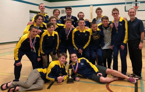 Boys swim team take Beach District title