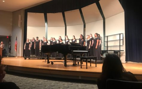 The Lady Madrigals performed at their assessment on March 16 at 2:45 p.m.