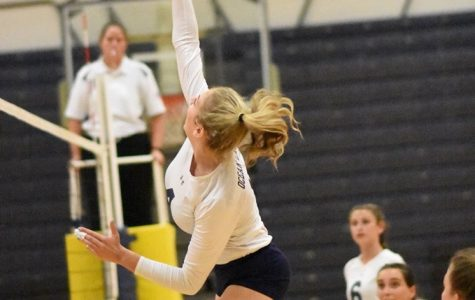 Girls volleyball shuts out Grassfield