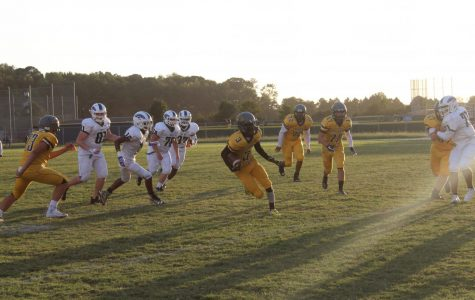 JV football displays strong offense in win