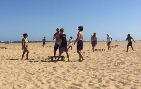 Spikeball celebrates final beach tournament