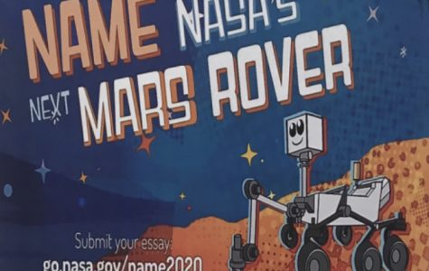 A picture of the Mars Rover contest held by NASA taken in the new wing.