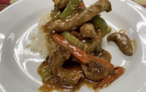 Chicken sauté made in Karen Simmons culinary class on Nov. 20.