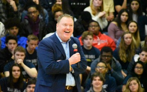 "Assembly speaker inspires students to ""dream big"""