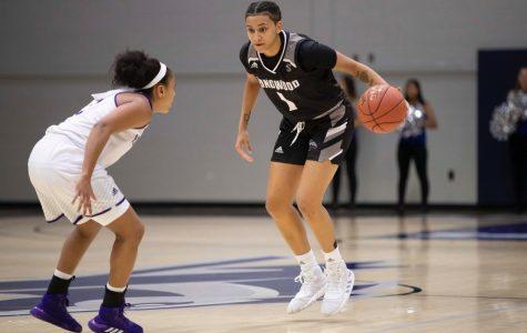 Alumna excels during freshman basketball season