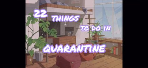 22 things to do in quarantine