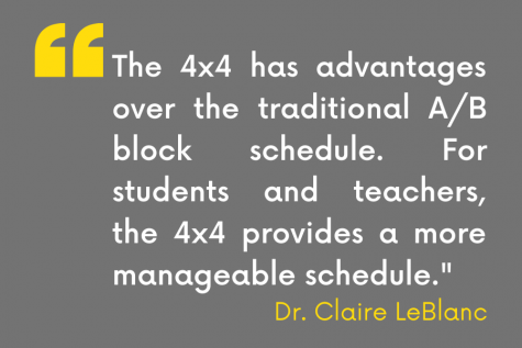 Quote from Principal Claire LeBlanc