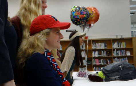 Student athletes congratulated at National Signing Day