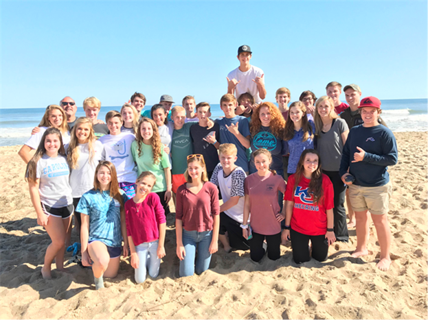 Young Life assembles at Ocean Lakes