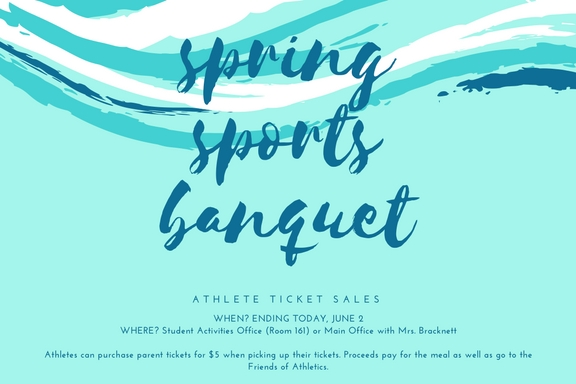 Student athlete banquet tickets on sale for one last day