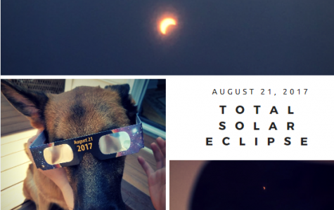 Students and faculty experience the total solar eclipse