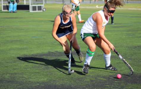 Field hockey team played rival Bishop Sullivan in fast rolling game