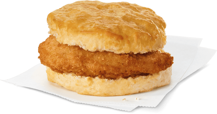 The Chick-fil-A breakfast biscuit will be available for purchase in the student parking lot November 3. Photo courtesy of the Chick-fil-A website.