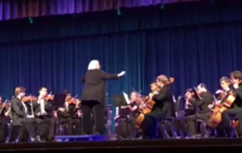 "Orchestra performs ""eerie cheery"" concert"