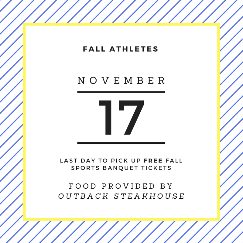 Fall+athletic+banquet+ticket+prices+rise+after+Friday
