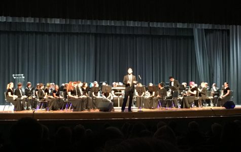 New band director performs his first formal concert