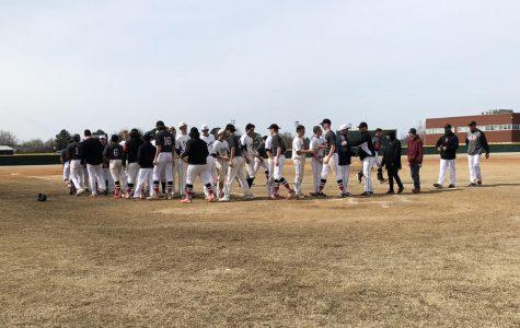Varsity baseball defeats Salem Sundevils