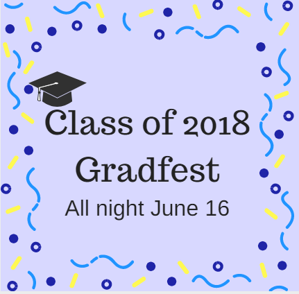 Seniors celebrate end of year with gradfest