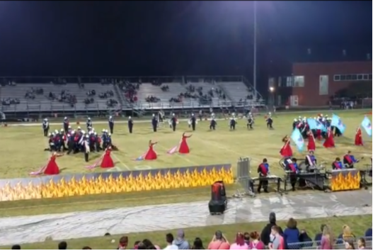 Marching Dolphins performed their show, Playing with Fire, at Homecoming 2017. The 2017-2018 season was Parker's directorial debut at Ocean Lakes.