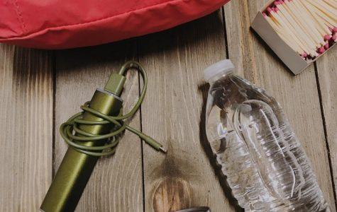Some hurricane preparation kit essentials.