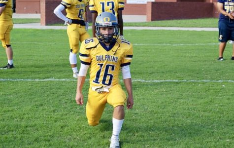 JV football exceeds expectations during three-way scrimmage
