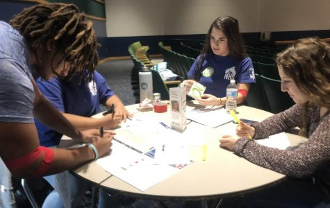 National Honors Society, Red Cross team up in the spirit of giving
