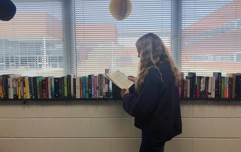 Donated books help AP students revive leisure reading