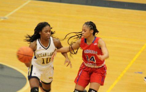 Girls basketball starter consistently controls court