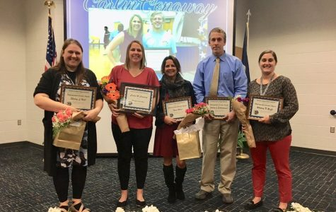 Ocean Lakes celebrate distinguished teachers at ceremony