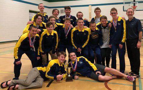 Boys swim team take Beach District title