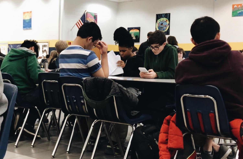 AP students take their