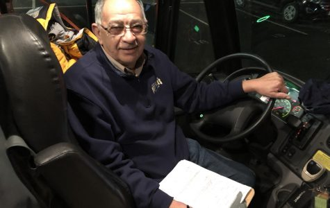 Bus driver popular among student athletes