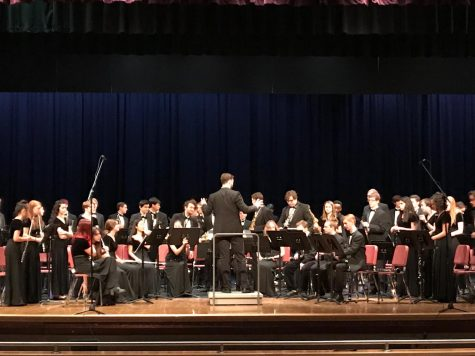 Music department ends year with concert