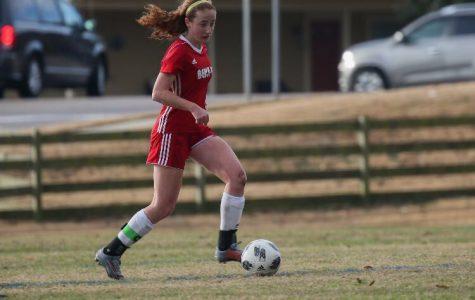 Starting sophomore holds defensive line