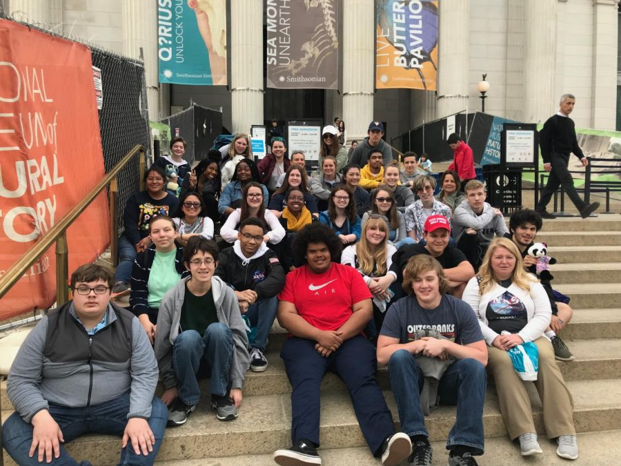 DC field trip marked start of spring break for astronomy, journalism classes