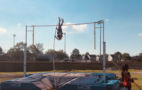 Pole vaulter leaps to succeed and coach others