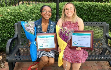Two seniors guaranteed teaching contract at VBCPS after college