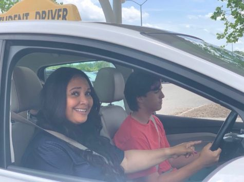 Behind the wheel teacher steers students in right direction