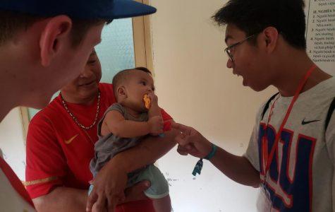 Local teens spread smiles overseas