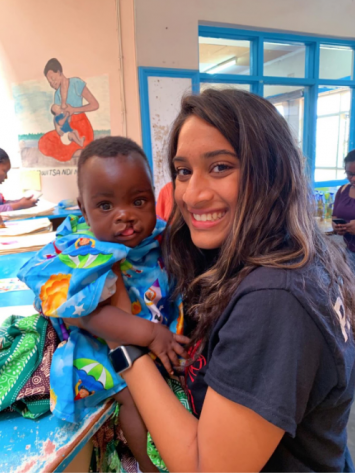 Senior helps children obtain new smiles with mission trip to Malawi