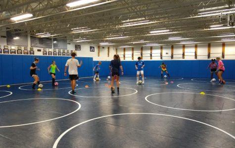 Annual kids soccer camp held to sharpen skills, raise money
