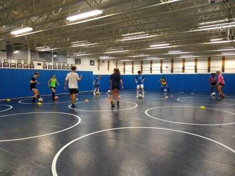 Annual kids soccer camp held to sharpen skills, raise money