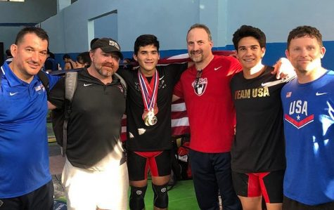 Weightlifting alumni competes in international competition