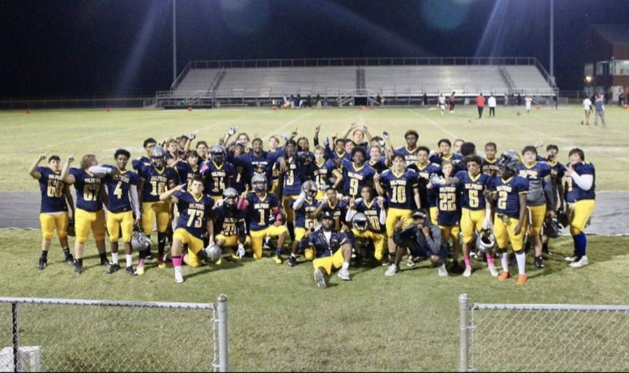JV football finishes season undefeated